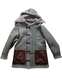 Yeezy Shearling Coat - Multicolor