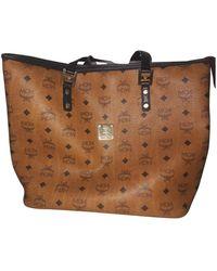 MCM Anya Leather Handbag - Brown