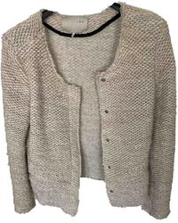 IRO Ecru Wool Jacket - Multicolor