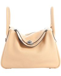 Hermès - Pre-owned Lindy Leather Bag - Lyst