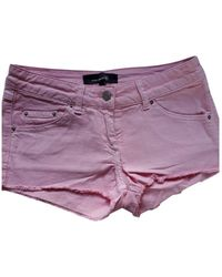 Isabel Marant Shorts in cotone rosa - Viola