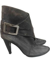 Roger Vivier Ankle Boots - Grey