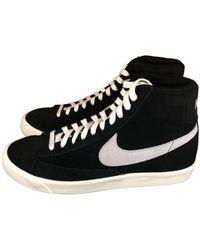 Nike Blazer Mid 77 Wildleder - Schwarz