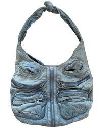 Alexander Wang Donna Leather Handbag - Green