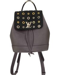 Louis Vuitton   Pre-owned Lockme Leather Backpack   Lyst