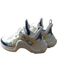Louis Vuitton Archlight Leinen Sneakers - Mehrfarbig