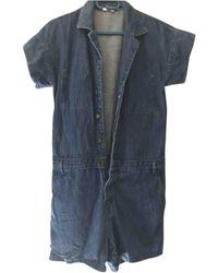 Maje Salopette in denim - jeans blu