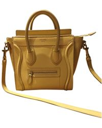 Pre Shoulder In Lyst Céline Bag Owned Luggage Leather dwqSOCz