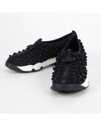 Dior - Black Cloth Trainers - Lyst