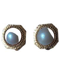Carven Earrings - Metallic