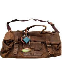Marni Leather Handbag - Brown