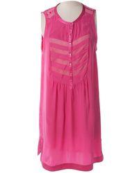 Zadig & Voltaire - Silk Mini Dress - Lyst