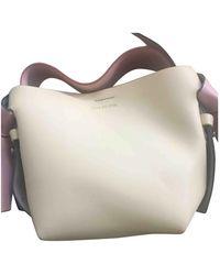 Acne Studios - Musubi Leather Crossbody Bag - Lyst