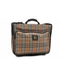 Burberry \n Brown Cloth Handbag
