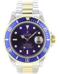 Rolex Reloj en oro y acero caqui Submariner - Multicolor