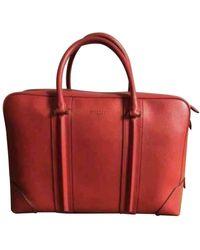 Givenchy Leder Taschen - Rot
