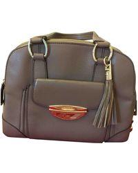 Lancel Adjani Leder Handtaschen - Natur