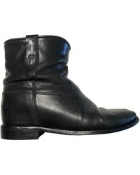 Isabel Marant Cluster Leather Ankle Boots - Multicolour