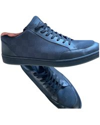 Louis Vuitton Cloth Low Sneakers - Blue