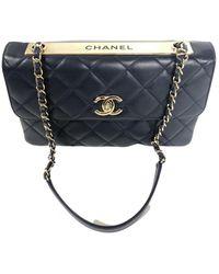 Chanel Trendy Cc Leather Handbag - Multicolor