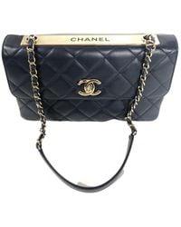 Chanel Sac à main Trendy CC en cuir - Multicolore