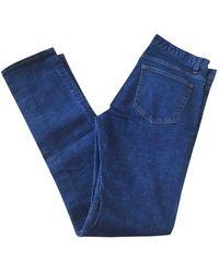 Sandro Gerade jeans - Blau