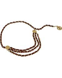 Chanel Cinturón en metal dorado - Metálico