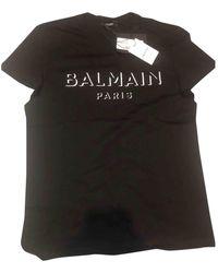 Balmain T-shirts - Schwarz
