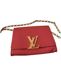 Louis Vuitton Louise Leather Clutch Bag - Pink