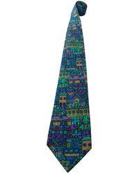 Missoni Multicolor Silk Ties - Blue