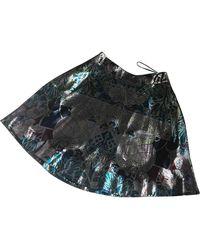 Mary Katrantzou Glitter Mini Skirt - Multicolor