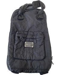Marc By Marc Jacobs Black Synthetic Backpack