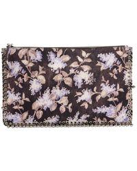 Zimmermann Black Cloth Clutch Bag