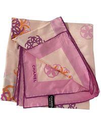 Chanel Silk Neckerchief - Pink