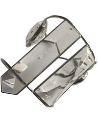 Maison Margiela Metallic Crystal Bracelets - Multicolour