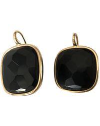 Pomellato - Victoria Black Yellow Gold Earrings - Lyst