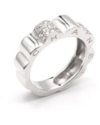 Chanel Weißgold Ringe - Mettallic