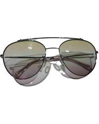 Zadig & Voltaire Spring Summer 2019 Aviator Sunglasses - Metallic