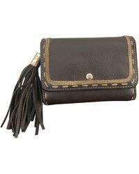 Lancel 1er Flirt Leather Wallet - Brown