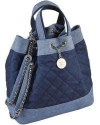 Chanel Backpack - Blue