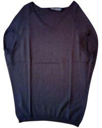 Neil Barrett Brown Wool Knitwear