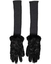 Marni Long Gloves - Black