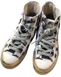 Golden Goose Deluxe Brand Francy Leinen Sneakers - Grau