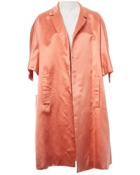 Dior Pink Silk Coat