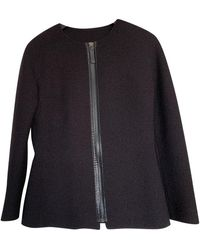Longchamp Black Tweed Jacket