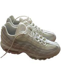 Nike Air Max 95 Niedrige turnschuhe - Weiß