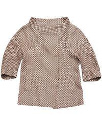 Marni - Brown Cotton Jacket - Lyst