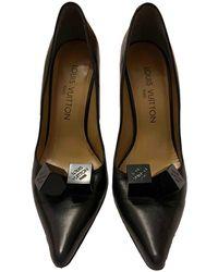 Louis Vuitton Escarpins en Cuir Noir