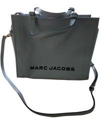 Marc Jacobs Sac à main The Box Bag en Cuir Gris