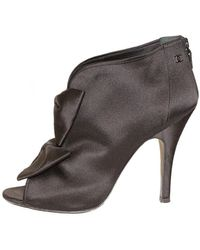Chanel Opentoes Stiefel - Mehrfarbig
